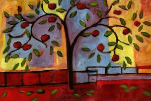 Abstract Tree I by Patty Baker