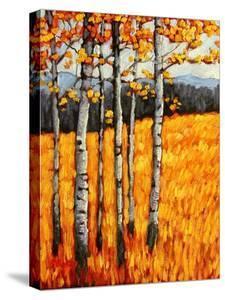 Autumn Aspens at Winter Park, Colorado by Patty Baker