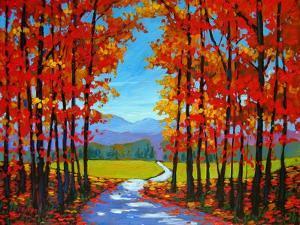 Autumn Path III by Patty Baker