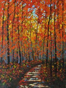 Autumn Path IX by Patty Baker