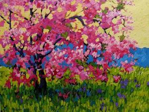 Blossoming Pink by Patty Baker