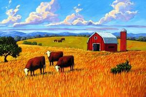 Colorado Farm In Late Summer by Patty Baker