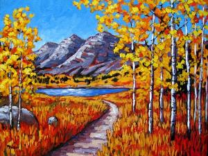 Maroon Bells, Colorado in Autumn by Patty Baker