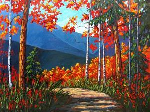 Path To Kaaterskill Falls by Patty Baker