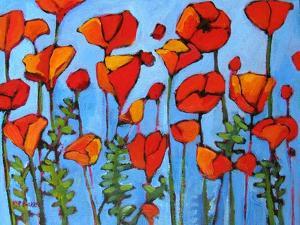 Poppy Garden by Patty Baker