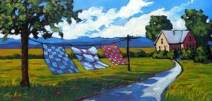 Quilts Blowing in and Afternoon Breeze by Patty Baker