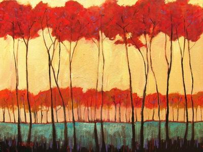 Tall Red Trees