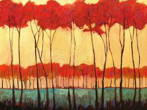 Tall Red Trees by Patty Baker