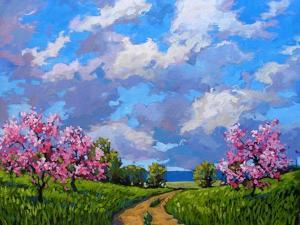Western Slope Orchard in Spring by Patty Baker