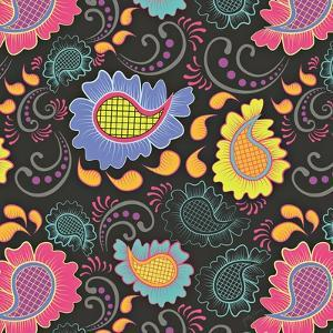 Playful Paisley II by Patty Young