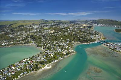 Pauatahanui Inlet, Porirua Harbour, Wellington Region, New Zealand-David Wall-Photographic Print