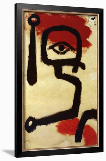 Paukenspieler, 1940-Paul Klee-Framed Art Print