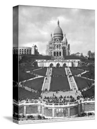 Basilica of Sacre-Coeur, Montmartre, 1876-1910