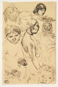 Studies of Women by Paul Albert Besnard