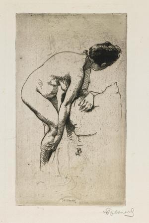 Study of Nude Female Figure, 1886