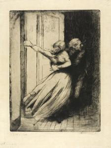 The Rape, Plate Eight from Woman, C.1886 by Paul Albert Besnard