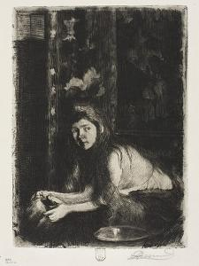Woman with a Vase, 1894 by Paul Albert Besnard