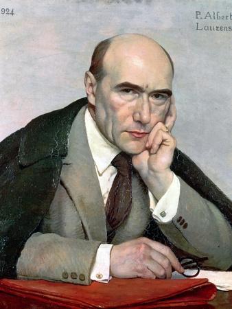 Portrait of Andre Gide (1869-1951) 1924