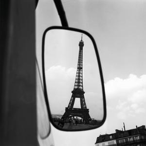 Eiffel Tower Reflection, c1960 by Paul Almasy
