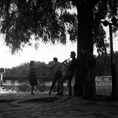 Rock 'n' Roll Dancers on the Square du Vert-Galant, Paris, 1960