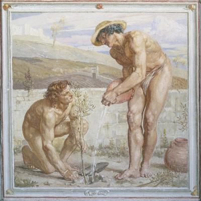 Paul and Apollos-Sir Edward Poynter-Giclee Print