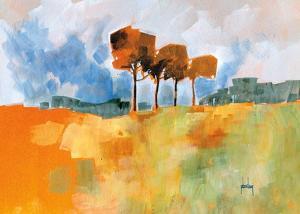 Four Trees by Paul Bailey