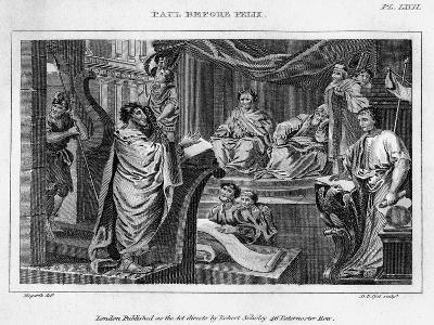 Paul before Felix, 18th Century-DB Pyet-Giclee Print