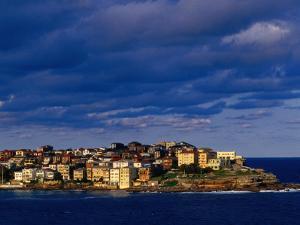 North Bondi Headland at Sunset, Sydney, Australia by Paul Beinssen