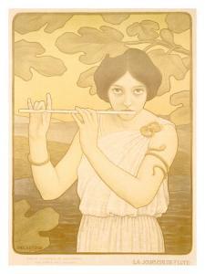 La Joyeuse de Flute by Paul Berthon