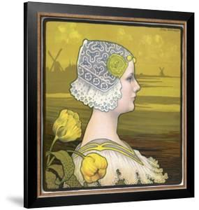 La Reine Wilhelmine by Paul Berthon