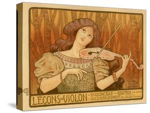 Leçons De Violon, 1898 by Paul Berthon