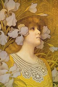 Sarah Bernhardt (1844-1923) by Paul Berthon