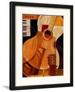 Abstract Guitar by Paul Brent