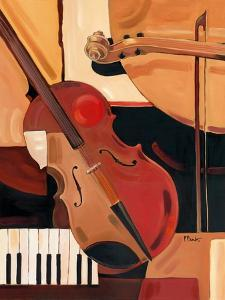 Abstract Violin by Paul Brent