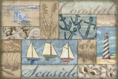 Bateau Bay Collage I