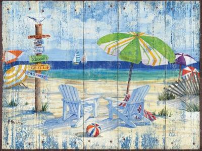 Beach Signs I by Paul Brent