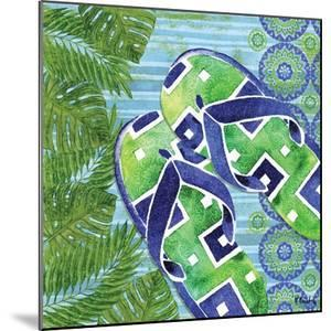 Blue Sarasota Sandals III by Paul Brent