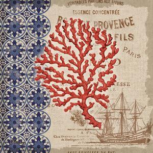 Burlap Coral III by Paul Brent