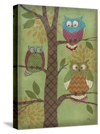 Fantasy Owls Vertical I