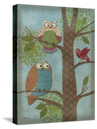 Fantasy Owls Vertical II