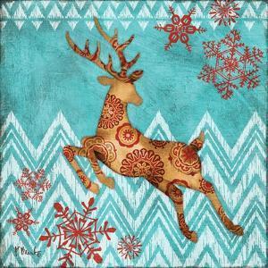 Ice Reindeer Dance II by Paul Brent