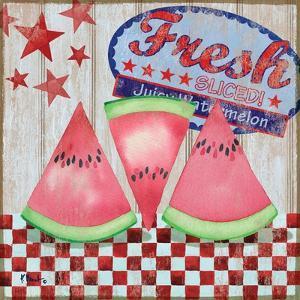 Juicy Watermelon I by Paul Brent