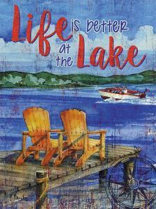 Lake Time Vertical II by Paul Brent