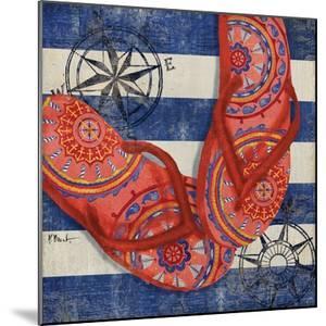 Nautical Flip Flops I by Paul Brent