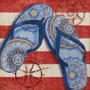 Nautical Flip Flops II by Paul Brent