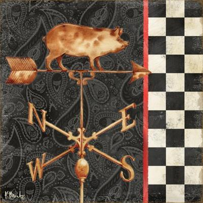 Paisley Weathervanes III by Paul Brent