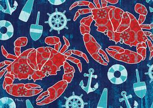 Pattern Crabs by Paul Brent