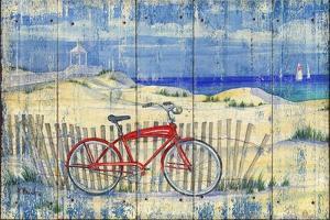 Red Beach Cruiser by Paul Brent