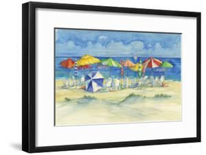 Watercolor Beach by Paul Brent