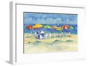 Watercolor Beach by Paul Brent